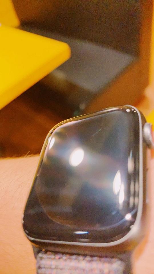 アップルウォッチのディスプレイの傷状態