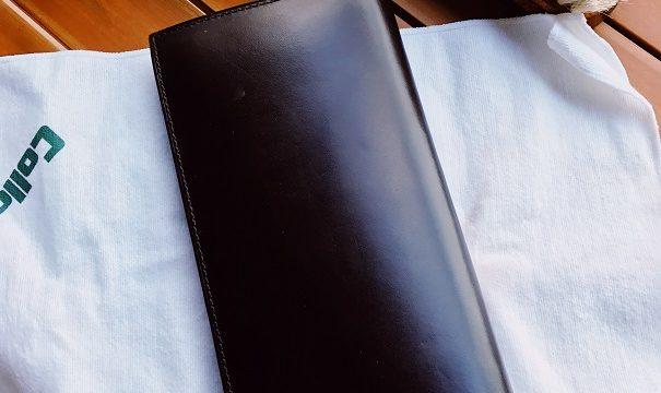 cocomisterの財布のメンテナンス画像