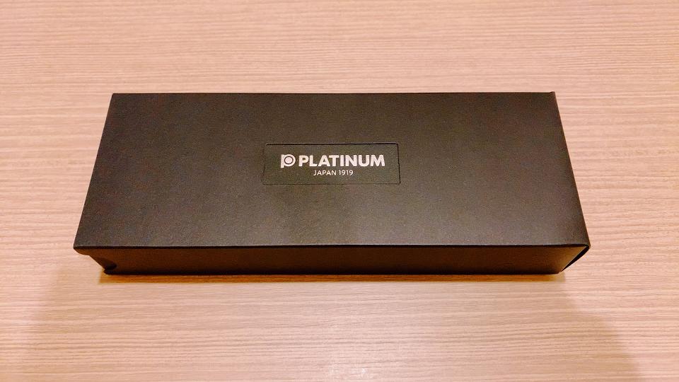 プラチナ万年筆の箱