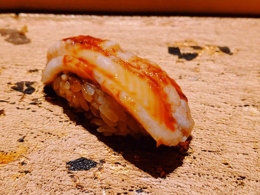 まんてん鮨の煮アナゴ