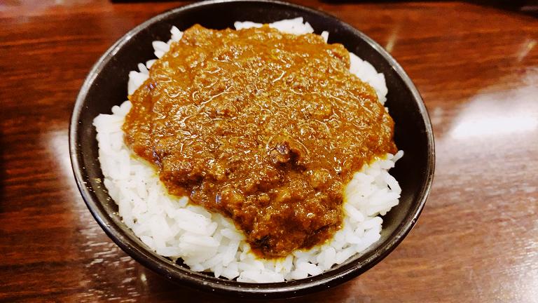 香噴噴の咖喱飯