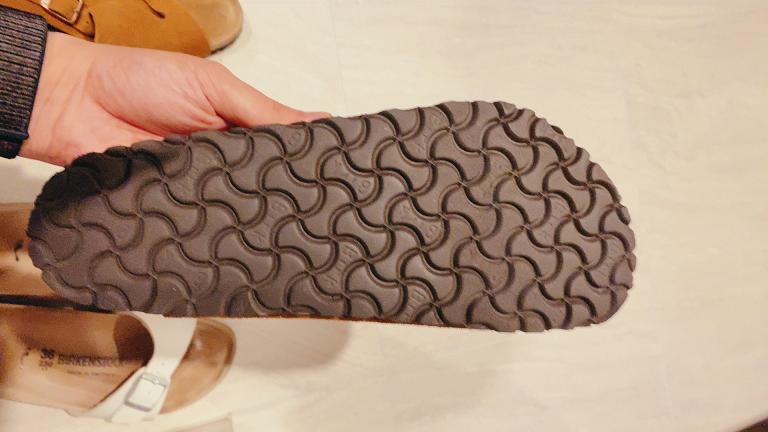 ビルケンシュトックのチューリッヒの靴底