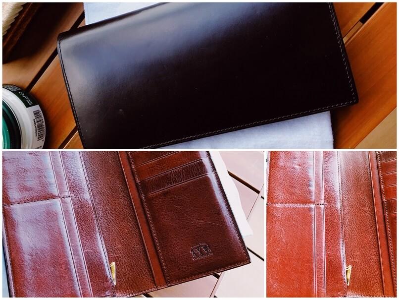 ココマイスター長財布、2017年10月当時の写真