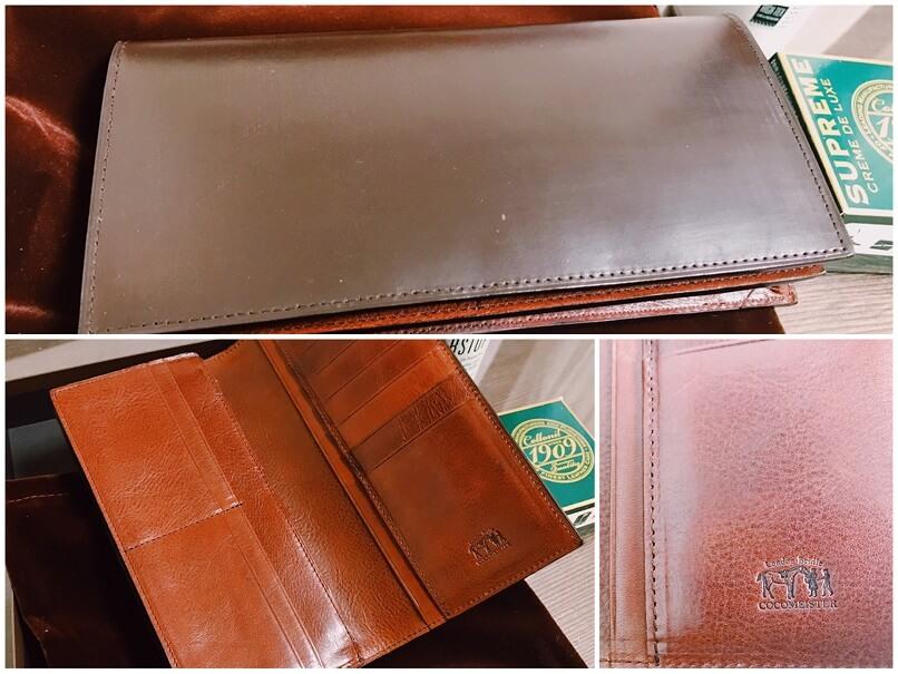 ココマイスター長財布、2017年6月購入当時の写真