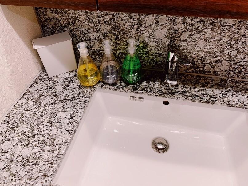 洗面台のインテリア
