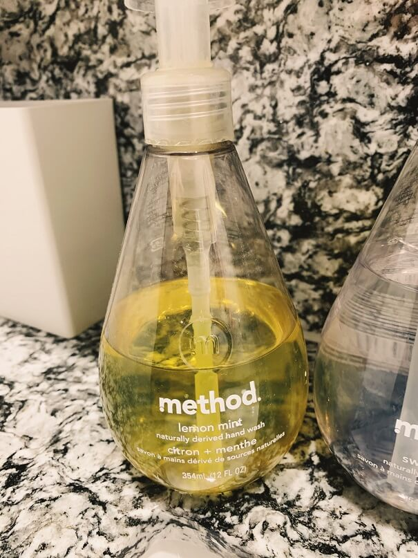 methodのハンドソープ レモンミント