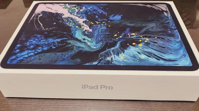 iPad Proの外箱画像