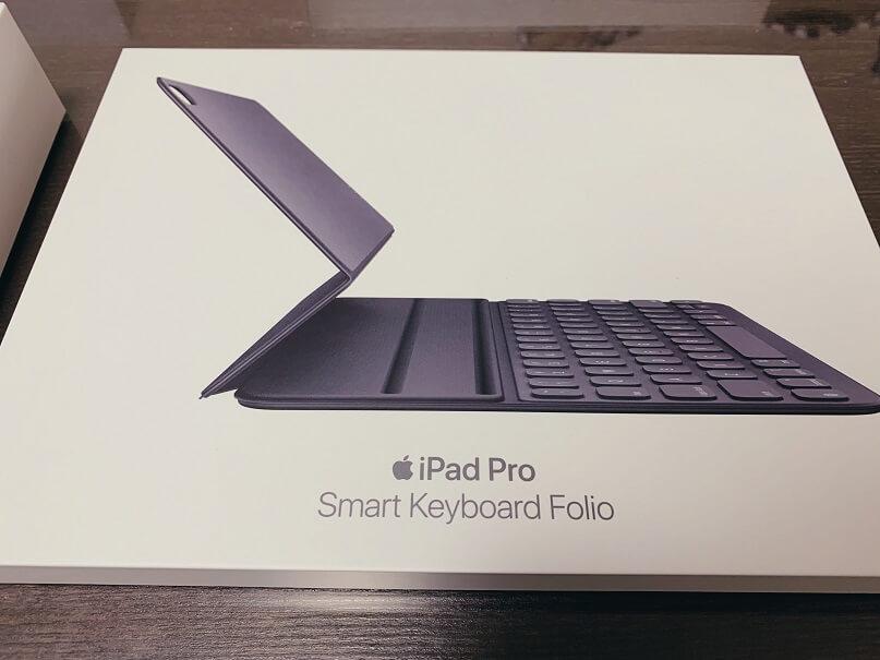 iPad Proの純正キーボード