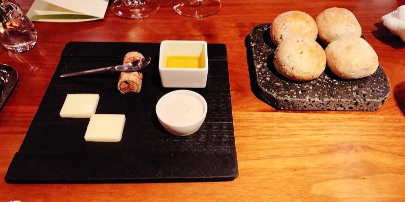 自家製パンとカルピスバター