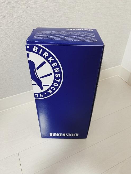 ビルケンシュトックルームシューズの外箱