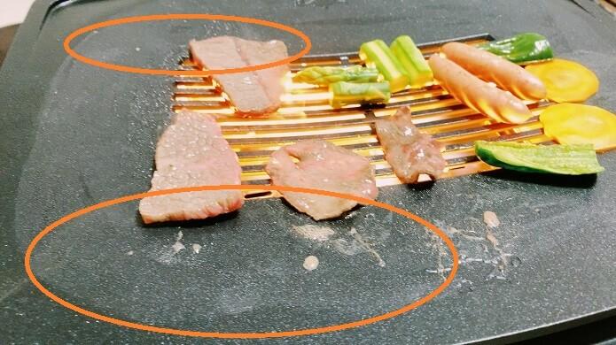 焼肉、〆の豚丼