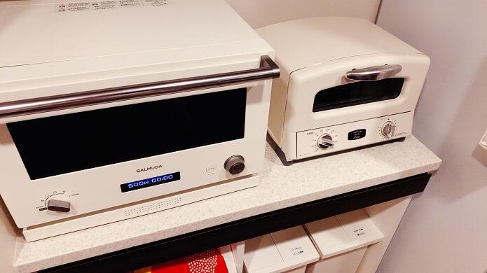 アラジントースター(AGT-G13A)があるキッチン