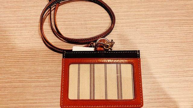 タケオキクチのIDカードホルダー