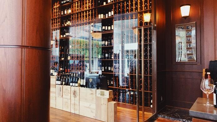 ウルフギャング・ステーキハウスシグニチャー青山店のワインセラー