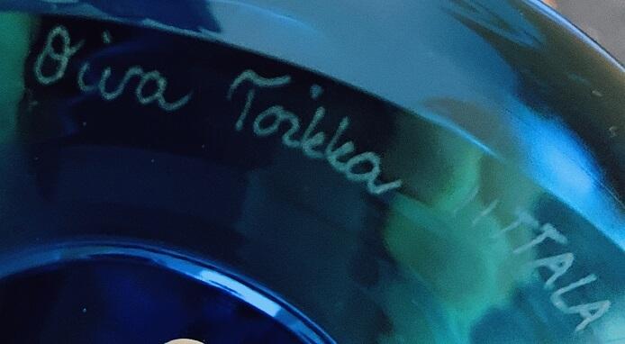 オイバ・トイッカのロリポップ2020の台座の裏
