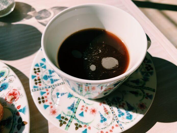 イッタラ表参道店のコーヒー