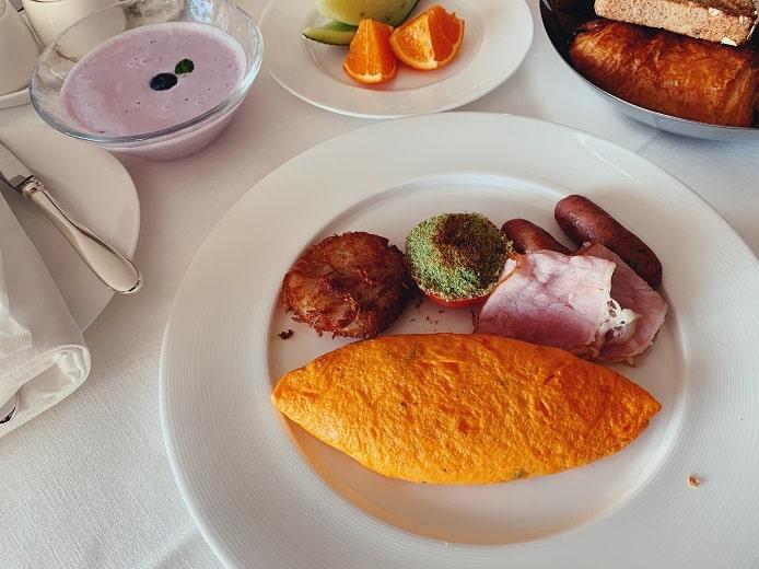 マンダリンオリエンタルの朝食