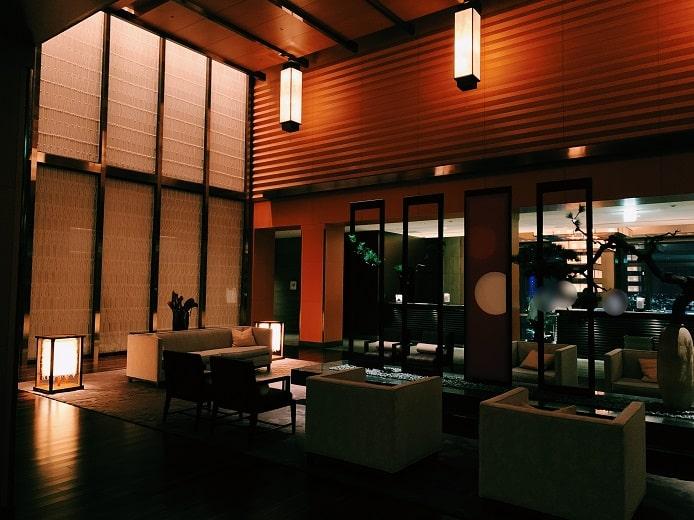 マンダリンオリエンタル東京のフロント