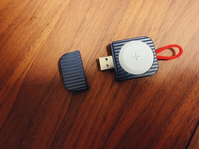 アップルウォッチの充電器