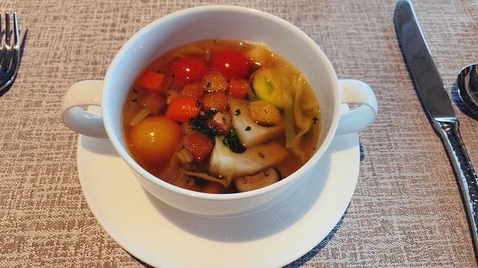 THE HIRAMATSU(ひらまつ)軽井沢 御代田の朝食