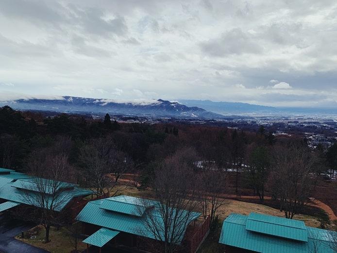 THE HIRAMATSU(ひらまつ)軽井沢 御代田の景色