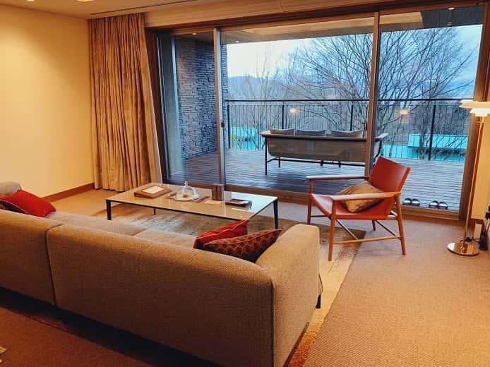 THE HIRAMATSU(ひらまつ)軽井沢 御代田の部屋