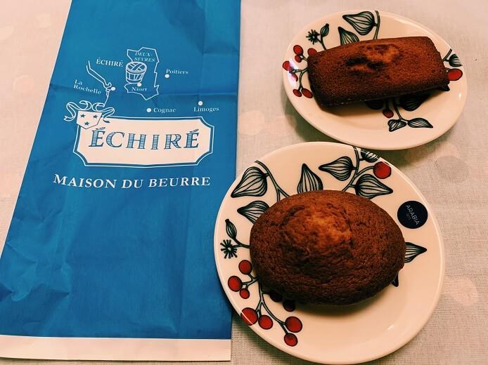 エシレ・メゾン デュ ブールの焼き菓子